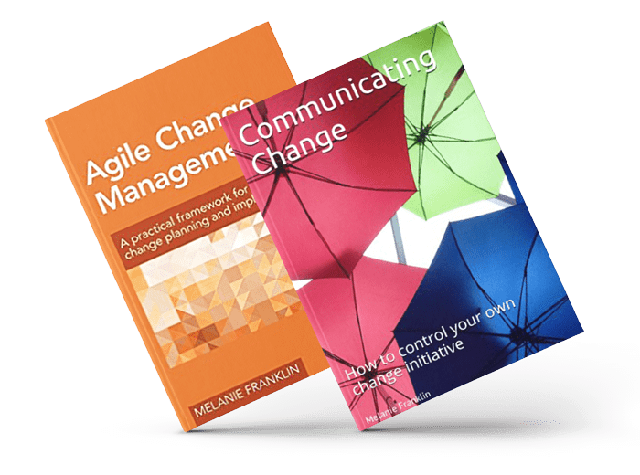 Change Management Books by Melanie Franklin